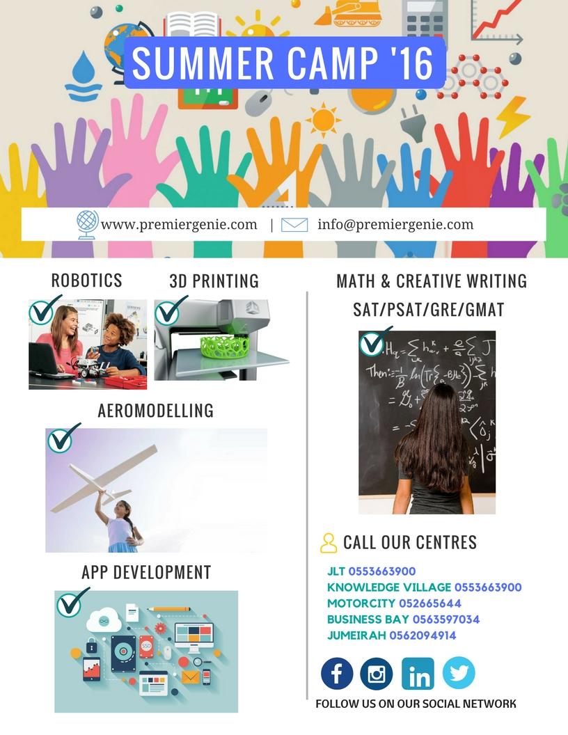 Math Learning Center & Leading STEM Camp In Dubai | Premier