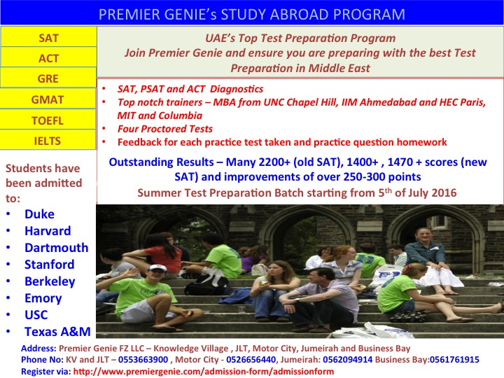 Premier Genie's Study Abroad Program screenshot